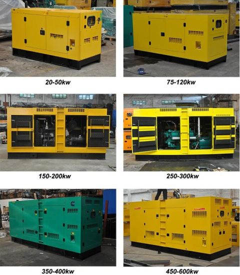Ce Approved 350kw 437kVA Diesel 3 Phase Generator pictures & photos