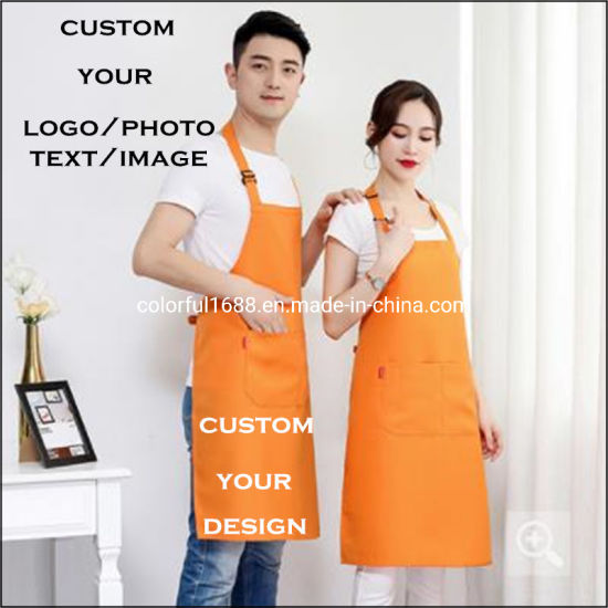 Custom Professional Grade Chef Apron for Kitchen, BBQ, and Grill with Towel Loop Tool Pockets Quick Release Buckle pictures & photos