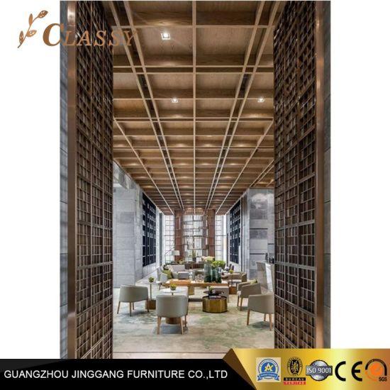 Custom Design Antique Stainless Steel Finish Ceiling Decoration