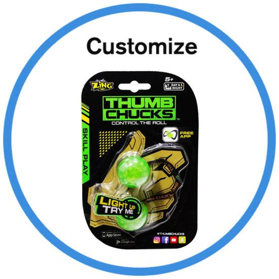 China 2017 New Arrive Popular Yoyo Ball Fidget Thumb Chuck