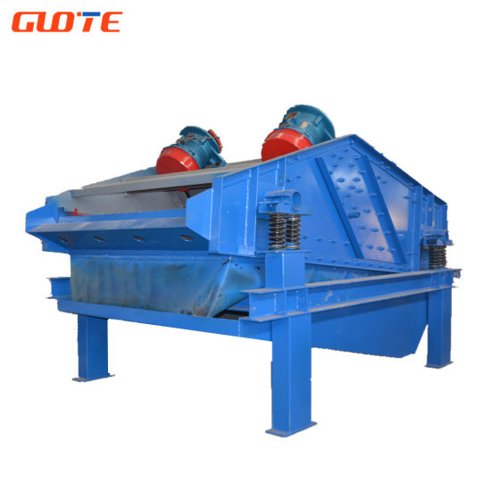 Low Price China Linear Sand Dewatering Vibrating Screen
