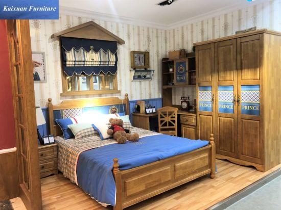 Solid Wood Kids Bed Furniture of Bedroom Furniture