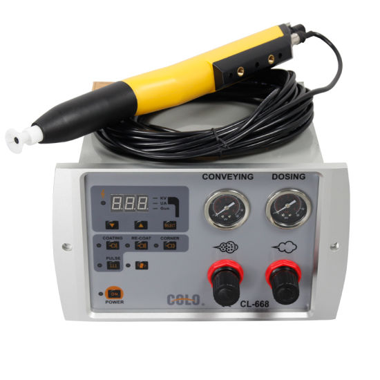 2015 New Model Automatic Powder Coating Equipment