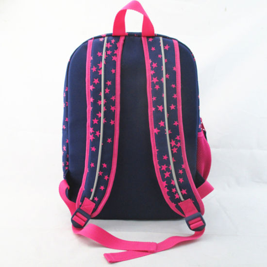 Girls Star Print Leisure Backpack pictures & photos