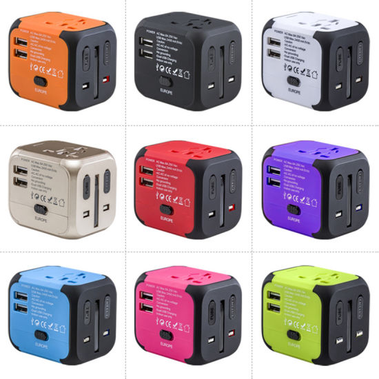 New Electronic Devices Best Travel Gifts Universal Travel Adapter Power Supply Adapter for Electronics