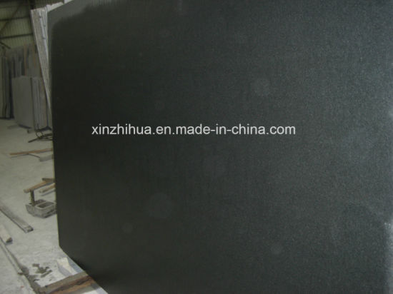 Shanxi Black Granite Black Absolute Slabs pictures & photos