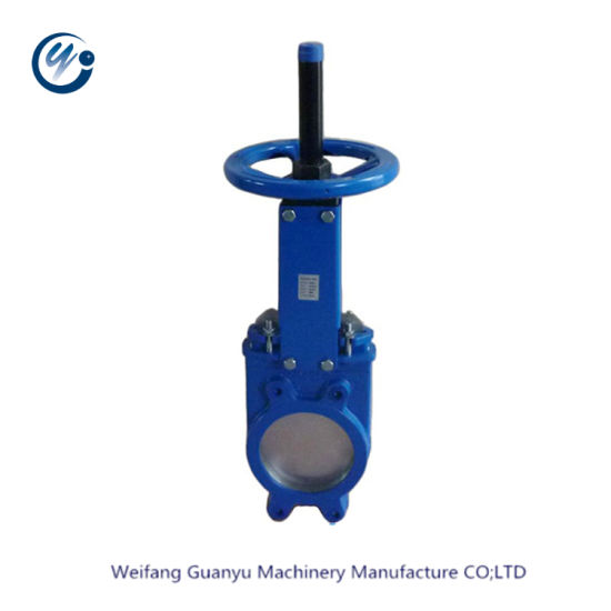 Ductile Cast Iron Handwheel Knife Gate Valve Pn10
