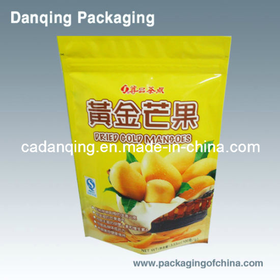 Danqing Hot Sale Dried Fruit Snack Laminating Plastic Packaging Bag for Mango Y0199 pictures & photos