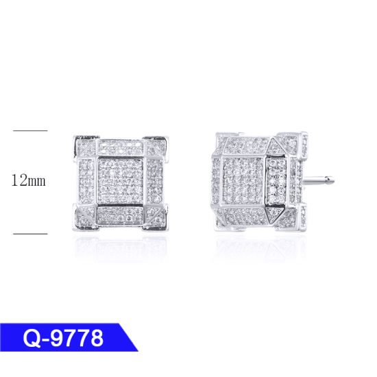 48061dcfb Latest Design Hip Hop Men′s Fashion Jewelry 925 Sterling Silver Cubic  Zirconia Iced out