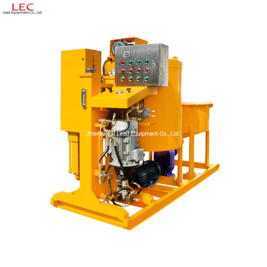 Tunnel Construction Ground Improvement High Pressure Injection Grout Pump