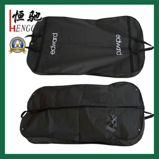 Custom PEVA Clothes Cover Suit Garment Bag with Transparent Window
