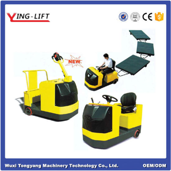 Towing Capacity >> China Electric Stand On Tow Tractor With 3000kg Towing