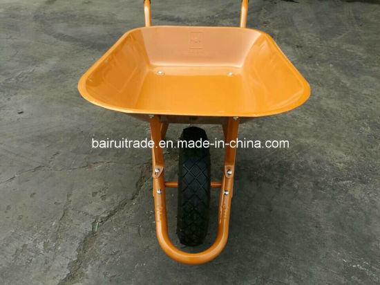 Wb6400 Wheelbarrow Prices Industrial Wheel Barrow for Sales pictures & photos