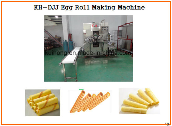 Kh Djj Popular Egg Roll Making Machine pictures & photos