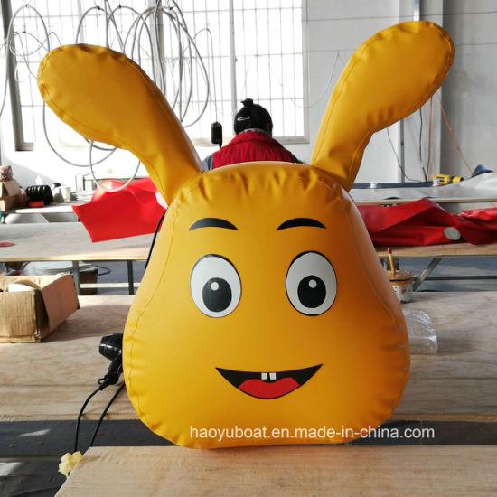 Haoyu Boat Inflatable Caterpillar Game Products Banana Boat