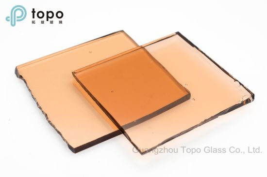 Pink Color Float Tinted Glass for Building Decoration (C-P) pictures & photos