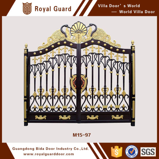 Latest Main Gate Designs American Steel Door Entrance Design Metal