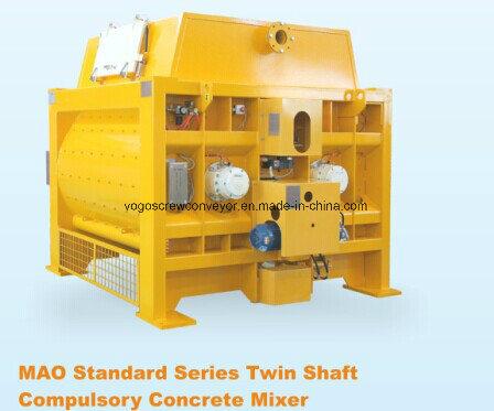 Sicoma Twin Shaft Concrete Mixer for Concrete Batching Plant