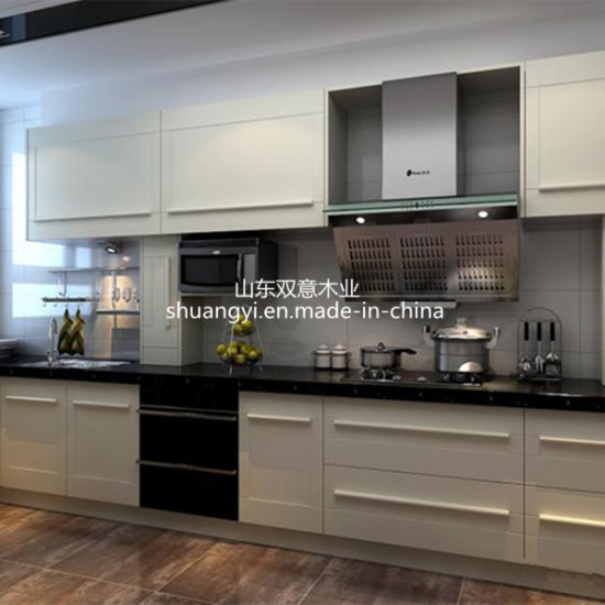 China Factory Supply Popular Modular Shaker Solid Wood Kitchen Cabinet pictures & photos