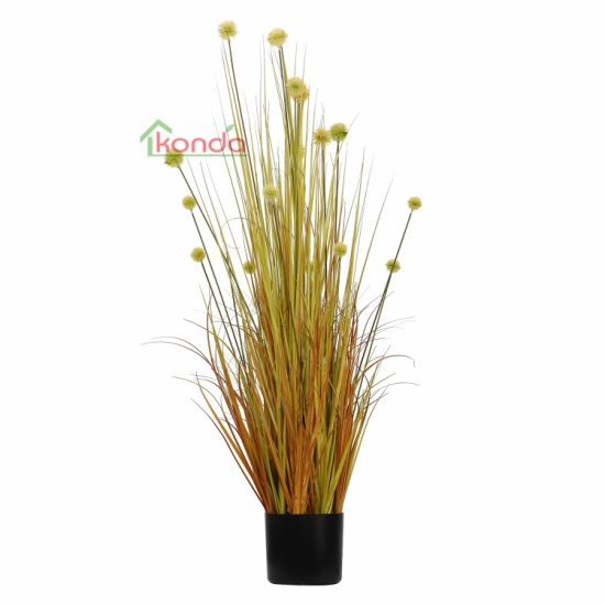 Popular Decorative Plants Highly Imitative of Artificial Colorful Onion Grass Plant