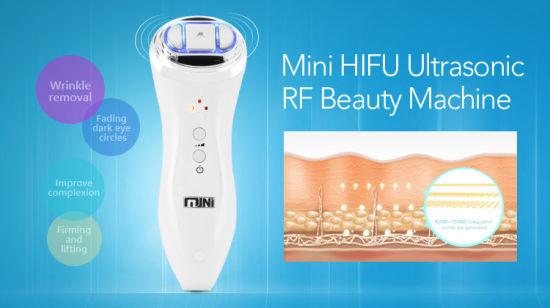 China Amazon Top Seller 2018 Hifu RF Skin Tightening Machine