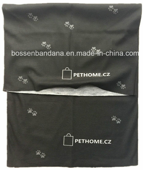 Custom Made Customized Logo Printed Microfiber Multifunctional Seamless Outdoor Black Magic Scarf pictures & photos