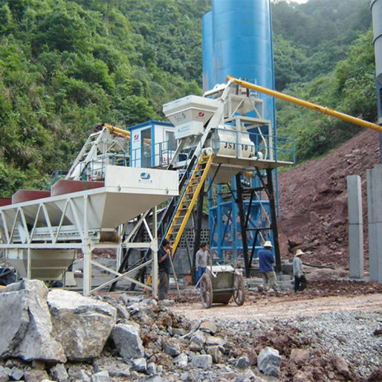 ISO9001 Productivity 50m3/H (Hzs50) Concrete Batching Plant pictures & photos