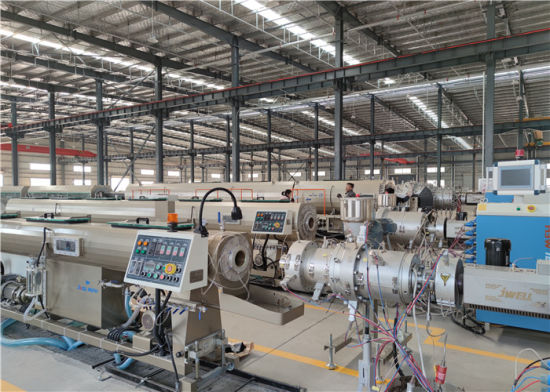 Jwell HDPE PP PPR Solid Pipe Extrusion Machine/Line/Equipment