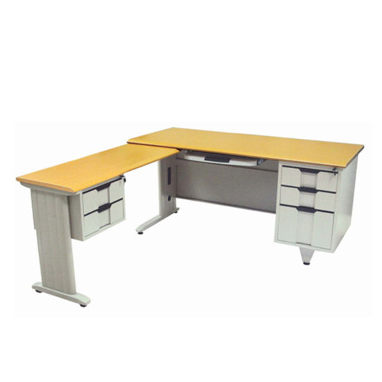china new modern wooden office furniture l shape office table