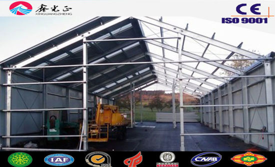 Prefabricated Shed/Steel Structure Shed (JW-16301)