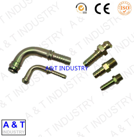 Bsp Male Carbon Steel Elbow 90 Degree Pipe Fitting Hydraulic Hose Fitting