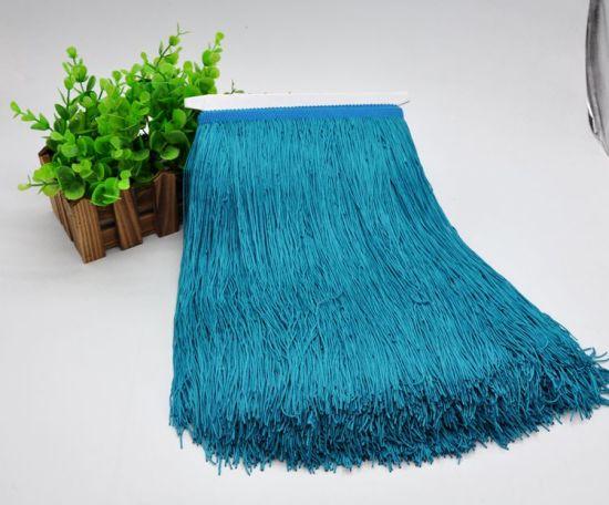 30cm Hot Sell More Colors Polyester Silk Tassel Fringe for Dancing Dress