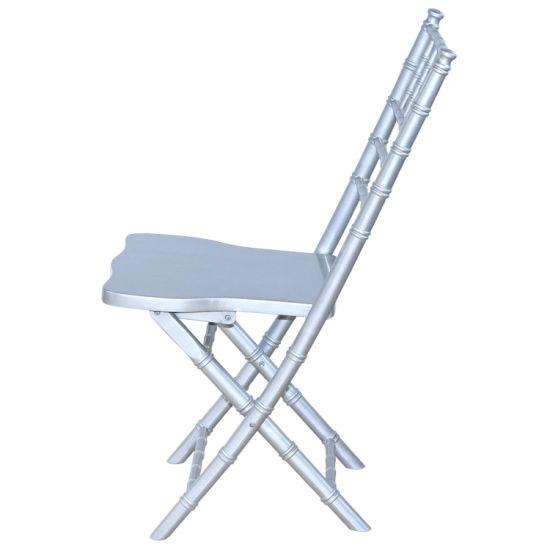 china high quality solid wood folding chiavari chair folding tiffany