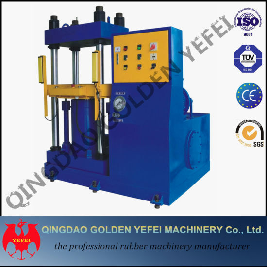 Double Station Vacuum Pump Rubber Silicone Vulcanizing Machinery pictures & photos