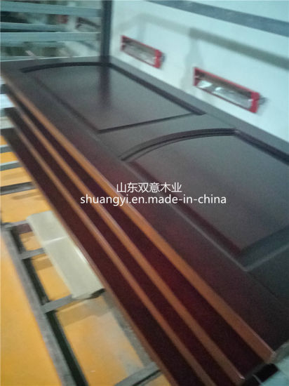 China Interior Flush Simple Wooden Door For Living Room Project
