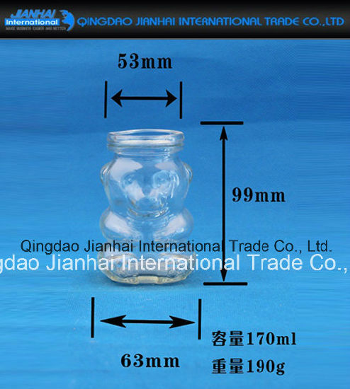 Candle Holder for Home Decoration Glass Bottle pictures & photos