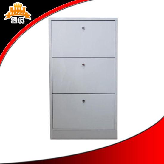 Modern Design Lockable Metal Storage Shoe Cabinet