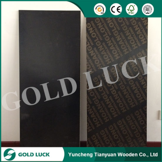 9mm Concrete Formwork Brown Film Faced Plywood