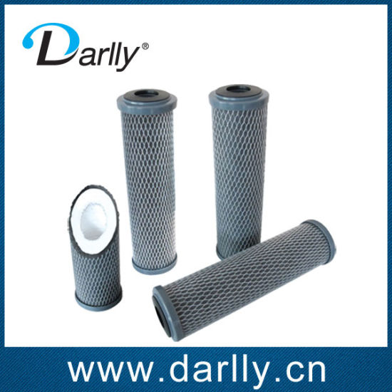 Activated Carbon Wrap PP Filter Cartridge for Water Treatment