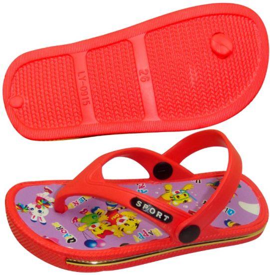 OEM New Red Children's Flip-Flops
