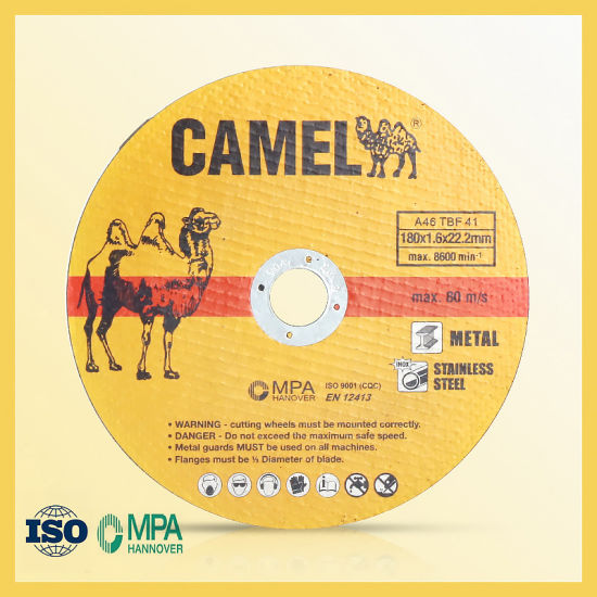 Camel Cutting Wheel with 2 Nets with 80m/S