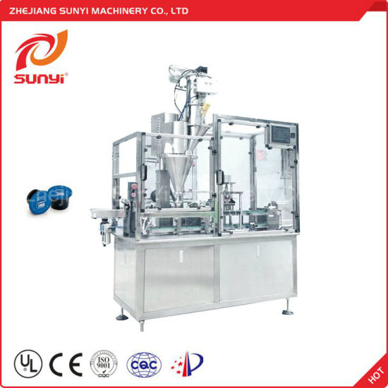 New Technology Ce Approved Coffee Capsules Filling Machine From Wenzhou Factory