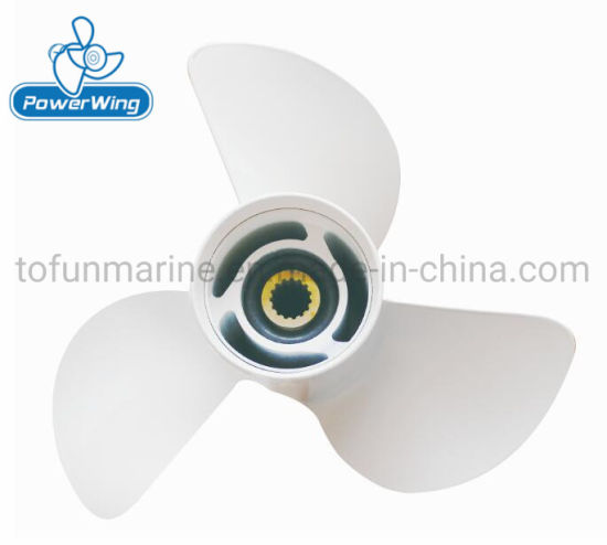 Powerwing Aluminum Boat Propeller for YAMAHA Outboard Engine (PWY131417)