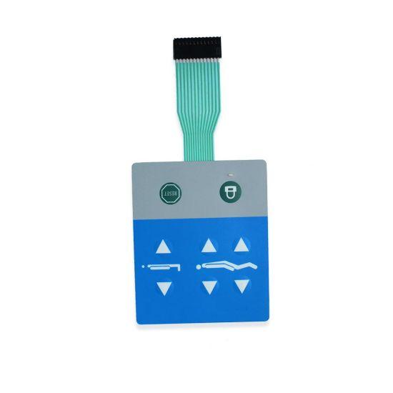 Embossed Keys Metal Domes FPC Tactile Membrane Switch Keypad
