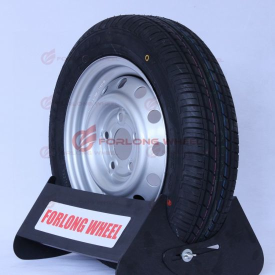 ECE & TUV Certificate Approval High Speed Trailer Complete Wheel