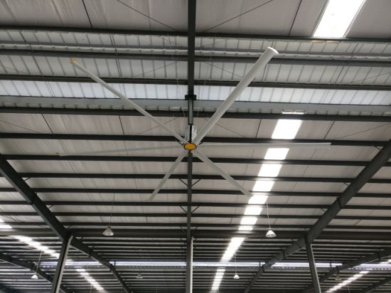 Super Energy Saving Large Industrial Ceiling Fan with 24 Feet Diameter of Blades