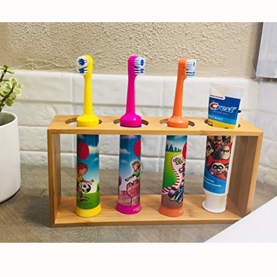 Electric toothbrush holder Bamboo Electric Toothbrush Holder Toothbrush holder