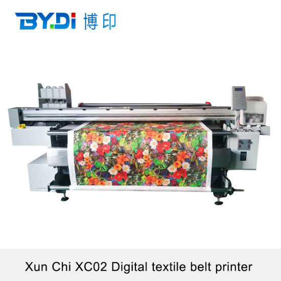 Digital Textile Printer with Belt Continuous Stransport Automatic Fabric Taking-up