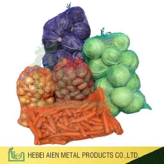 100% Polypropylene Vegetable Mesh Bag Potato/Onion Net Bag