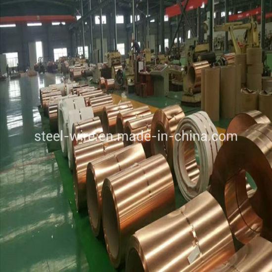 2mm 316L Aluminum Copper Clad Coil Titanium Nickel Silver Strip C7521